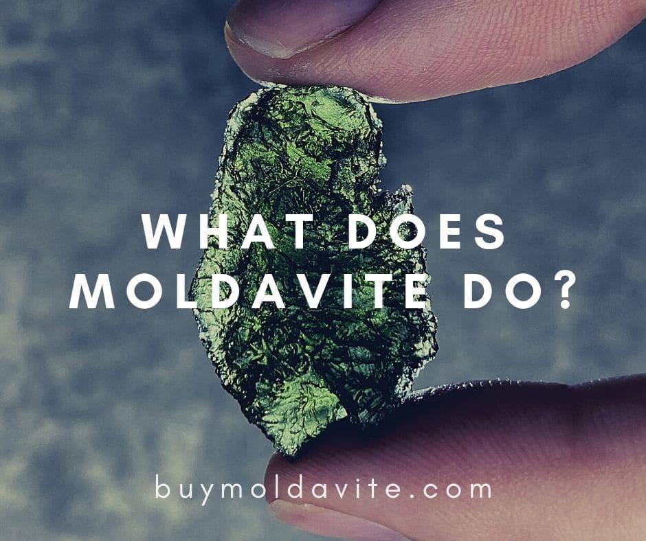 what does moldavite do